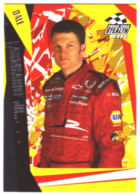 2005 Press Pass Stealth #38 Dale Earnhardt Jr.