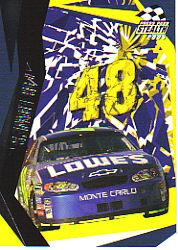 2005 Press Pass Stealth #42 Jimmie Johnson's Car