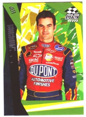 2005 Press Pass Stealth #48 Jeff Gordon