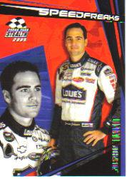 2005 Press Pass Stealth #96 Jimmie Johnson SF