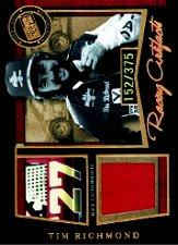 2005 Press Pass Legends Tim Richmond Racing Artifacts #TRF T.Richmond Firesuit B/375