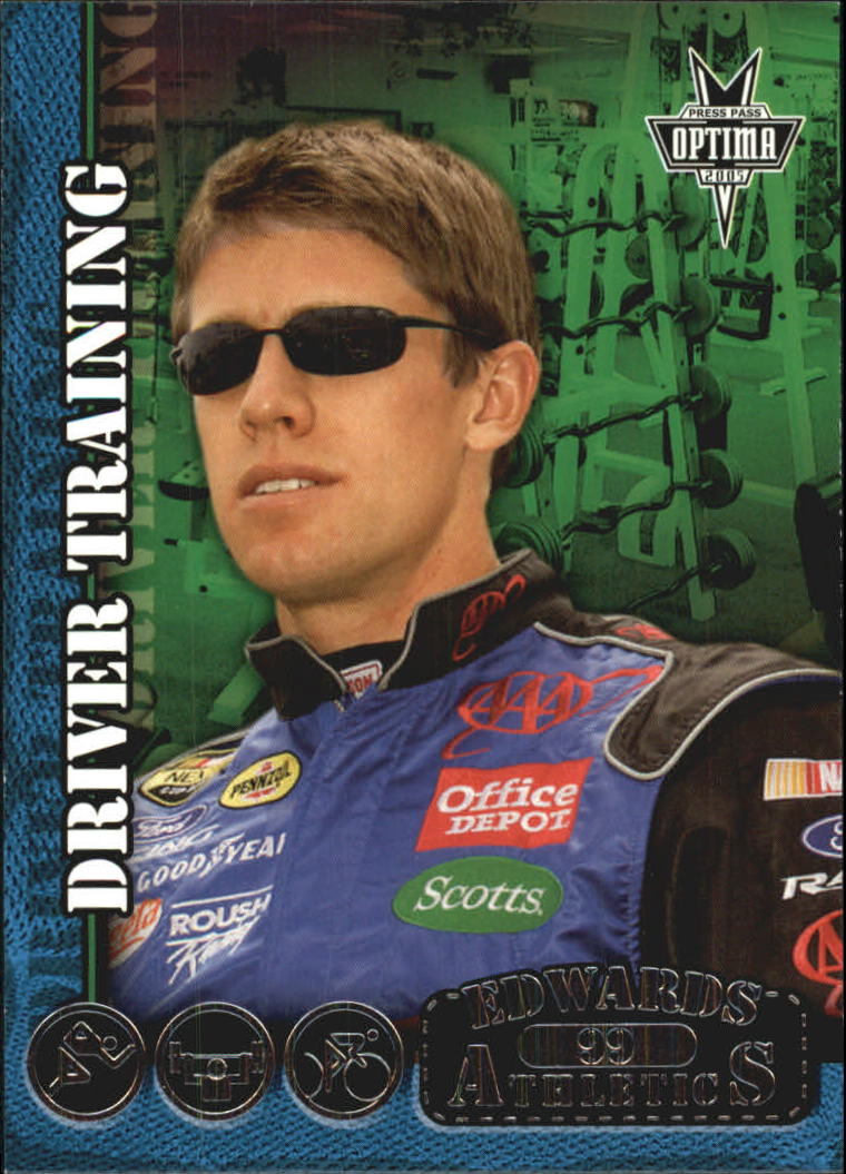 2005 Press Pass Optima #84 Carl Edwards DT