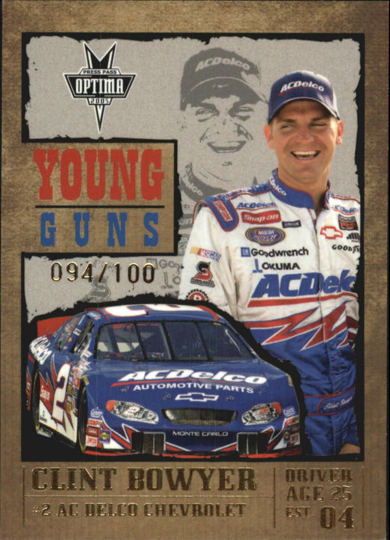 2005 Press Pass Optima Gold #G53 Clint Bowyer YG
