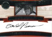 2005 Press Pass Legends Autographs Black #8 David Pearson/100