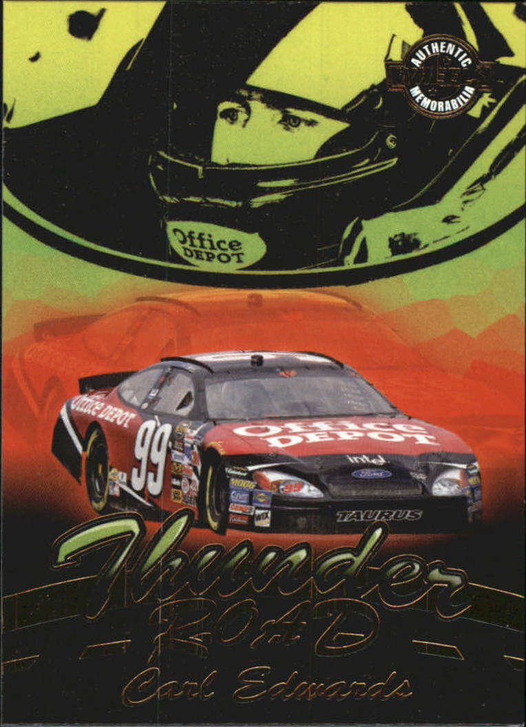 2005 Wheels American Thunder Thunder Road #TR13 Carl Edwards