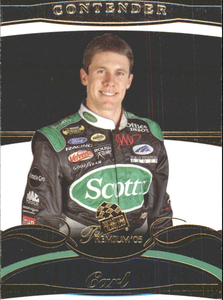 2005 Press Pass Premium #6 Carl Edwards CRC front image