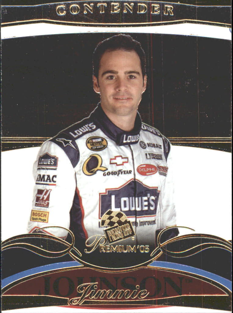 2005 Press Pass Premium #11 Jimmie Johnson