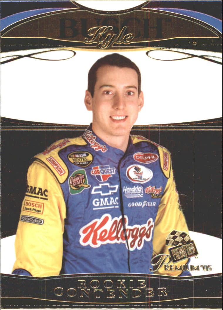 2005 Press Pass Premium #35 Kyle Busch CRC