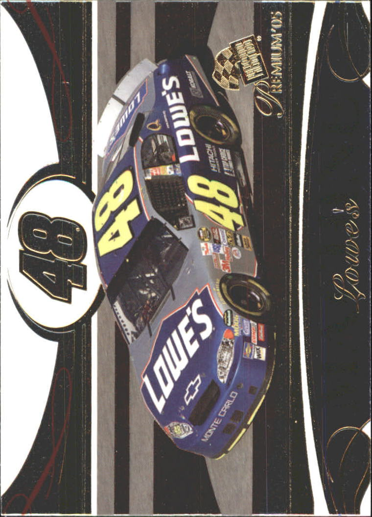 2005 Press Pass Premium #38 Jimmie Johnson's Car M