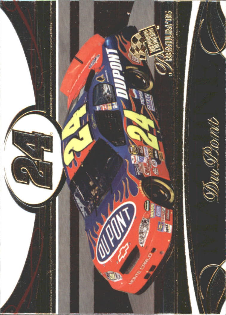 2005 Press Pass Premium #40 Jeff Gordon's Car M
