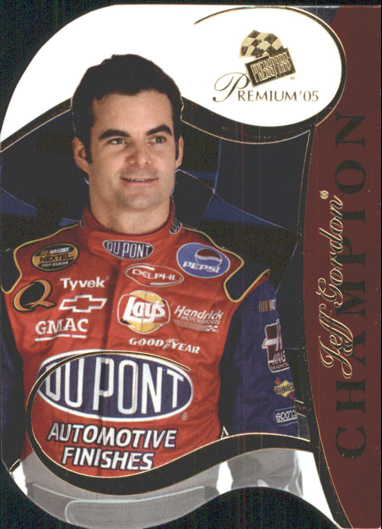 2005 Press Pass Premium #53 Jeff Gordon CC
