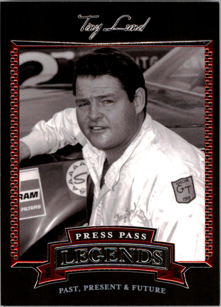 2005 Press Pass Legends #6 Tiny Lund