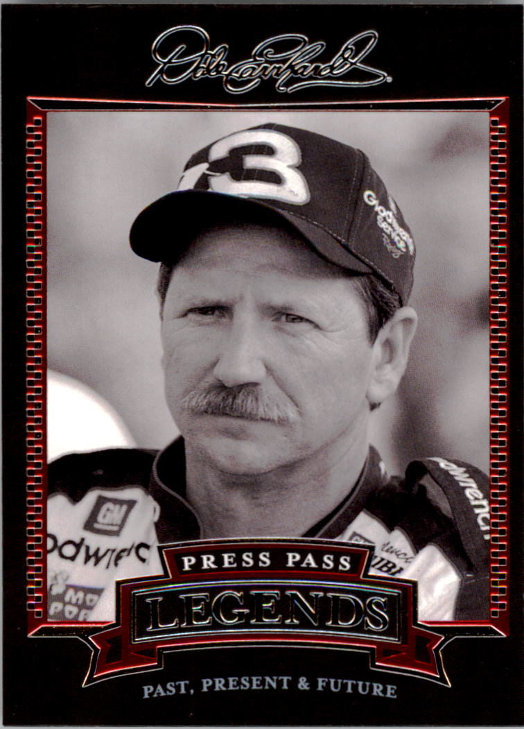 2005 Press Pass Legends #19 Dale Earnhardt