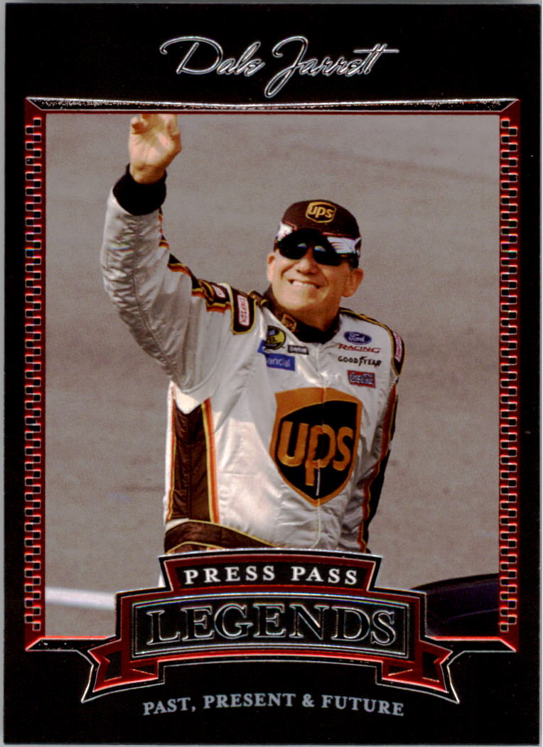 2005 Press Pass Legends #25 Dale Jarrett