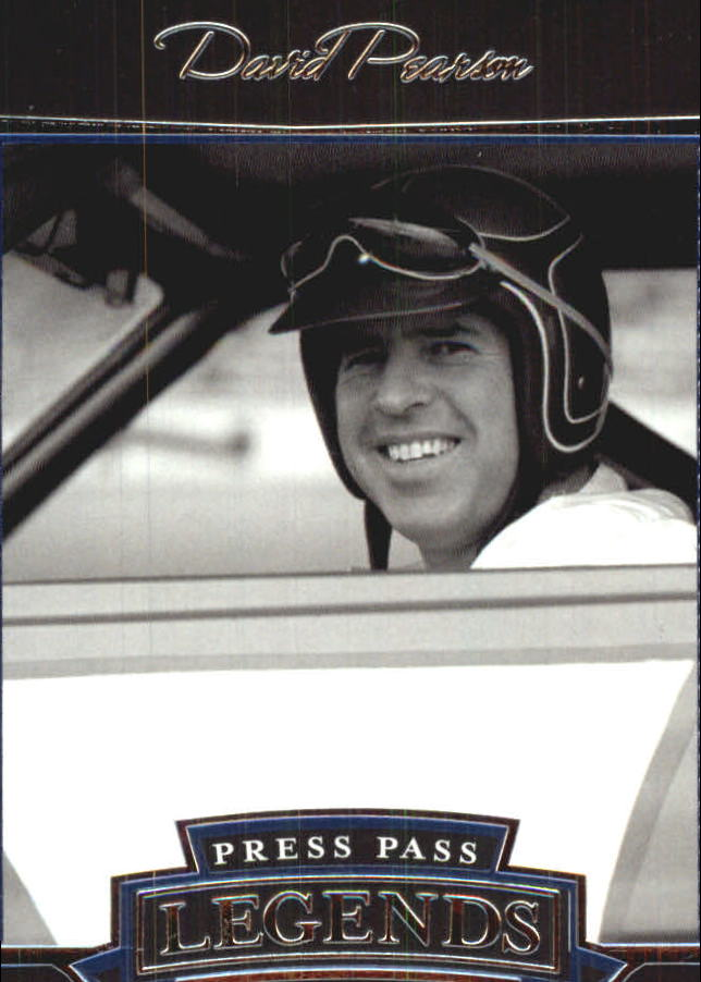 2005 Press Pass Legends Blue #12B David Pearson