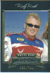 2005 Press Pass Legends Gold #20G Ricky Rudd