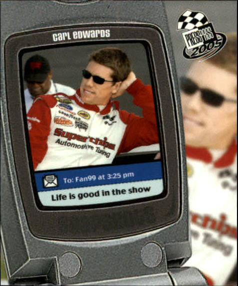 2005 Press Pass Snapshots #SN6 Carl Edwards