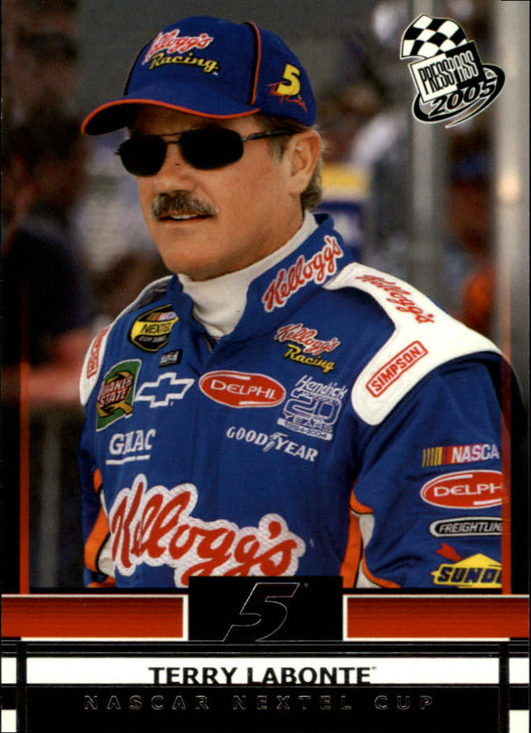 2005 Press Pass #4 Terry Labonte