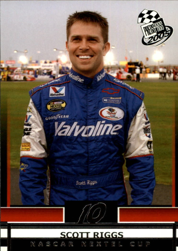 2005 Press Pass #8 Scott Riggs