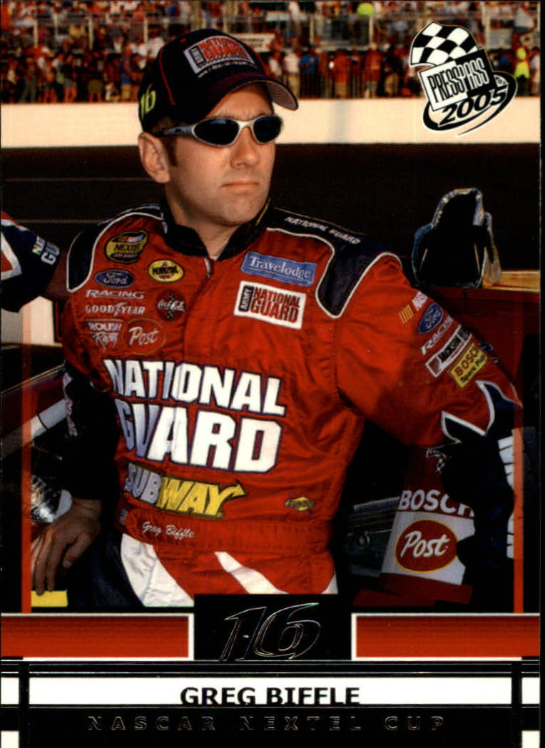2005 Press Pass #11 Greg Biffle