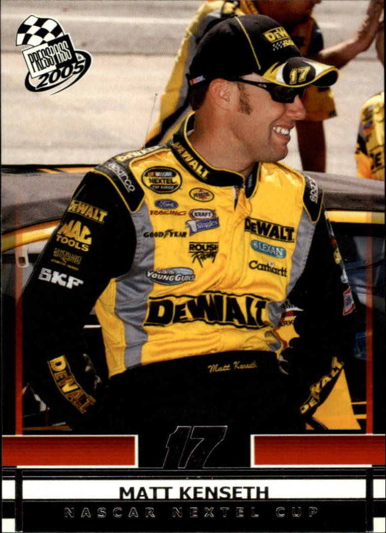 2005 Press Pass #12 Matt Kenseth
