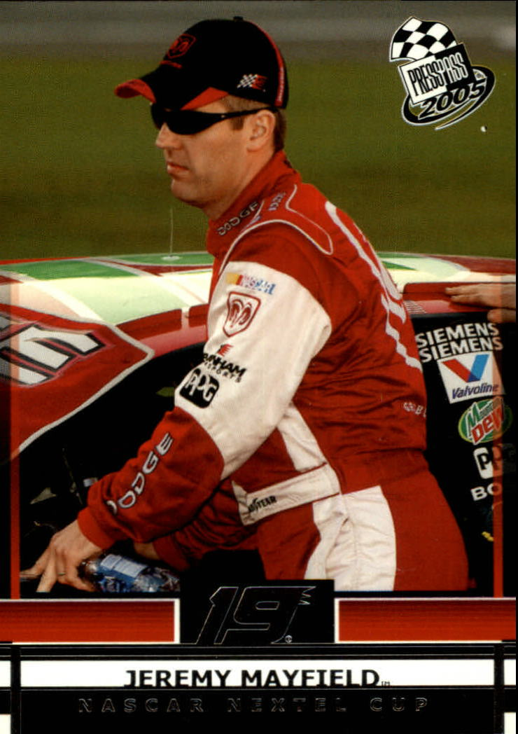 2005 Press Pass #14 Jeremy Mayfield