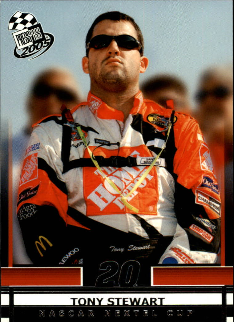 2005 Press Pass #15 Tony Stewart