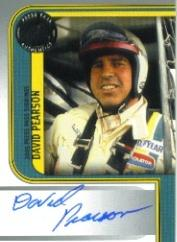 2005 Press Pass Signings #45 David Pearson P/S