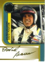 2005 Press Pass Signings Gold #43 David Pearson P/S