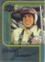 2005 Press Pass Signings Platinum #41 David Pearson P/S