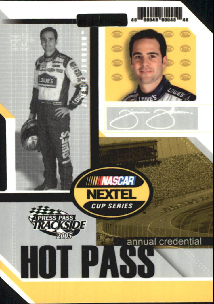 2005 Press Pass Trackside Hot Pass #8 Jimmie Johnson
