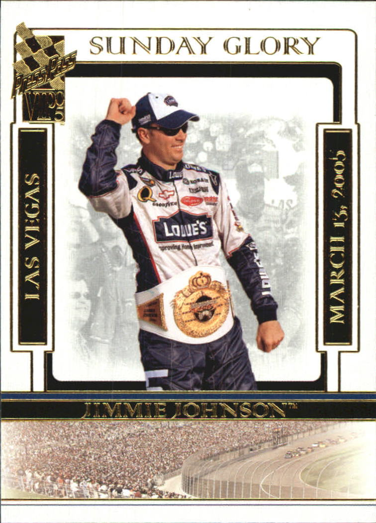 2005 VIP #45 Jimmie Johnson SG