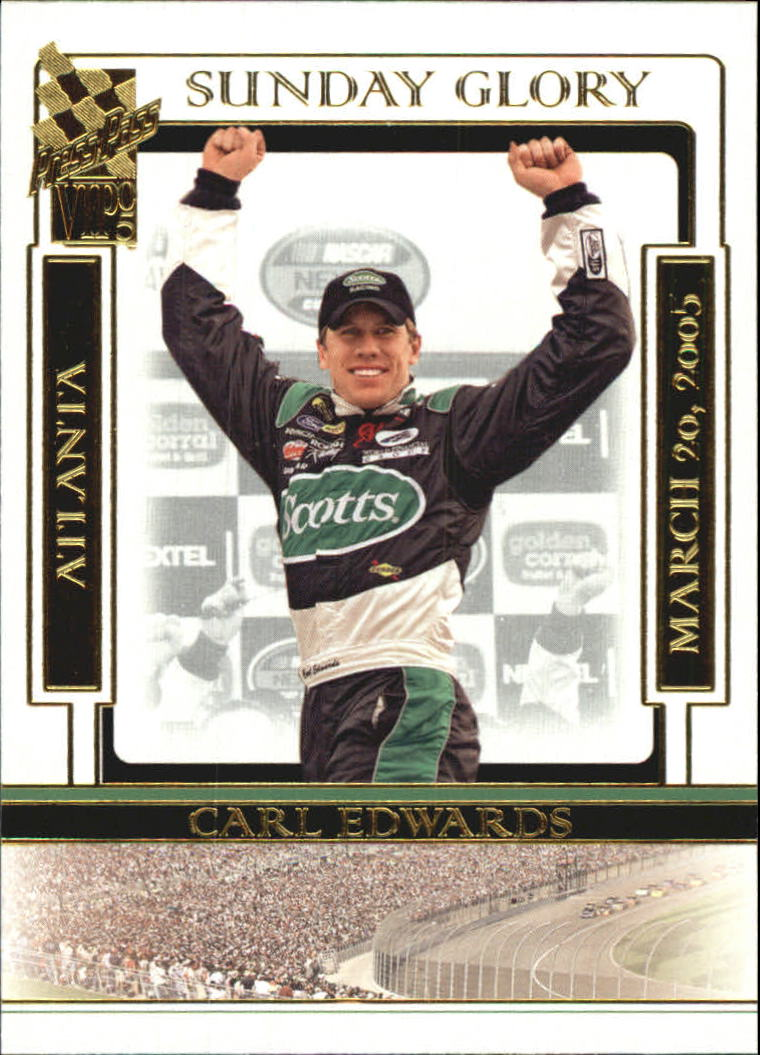2005 VIP #46 Carl Edwards SG