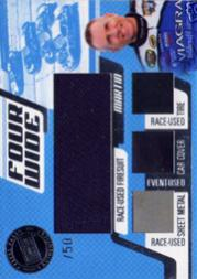 2006 Press Pass Four Wide #FWMM Mark Martin