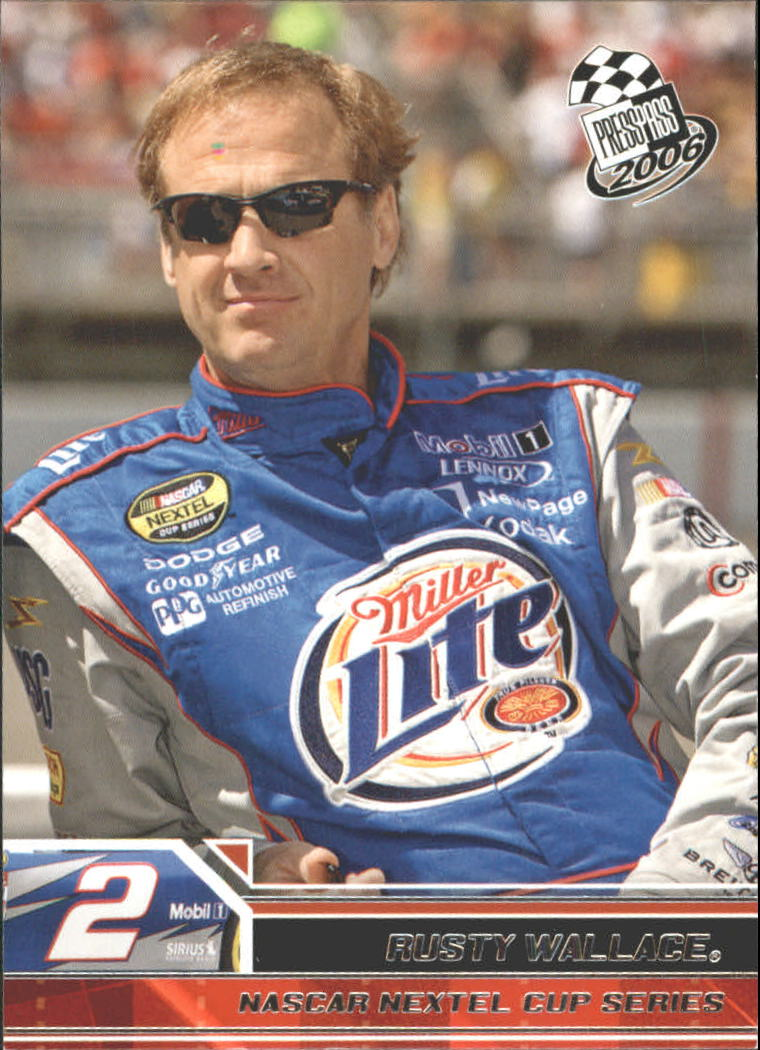 2006 Press Pass #4 Rusty Wallace