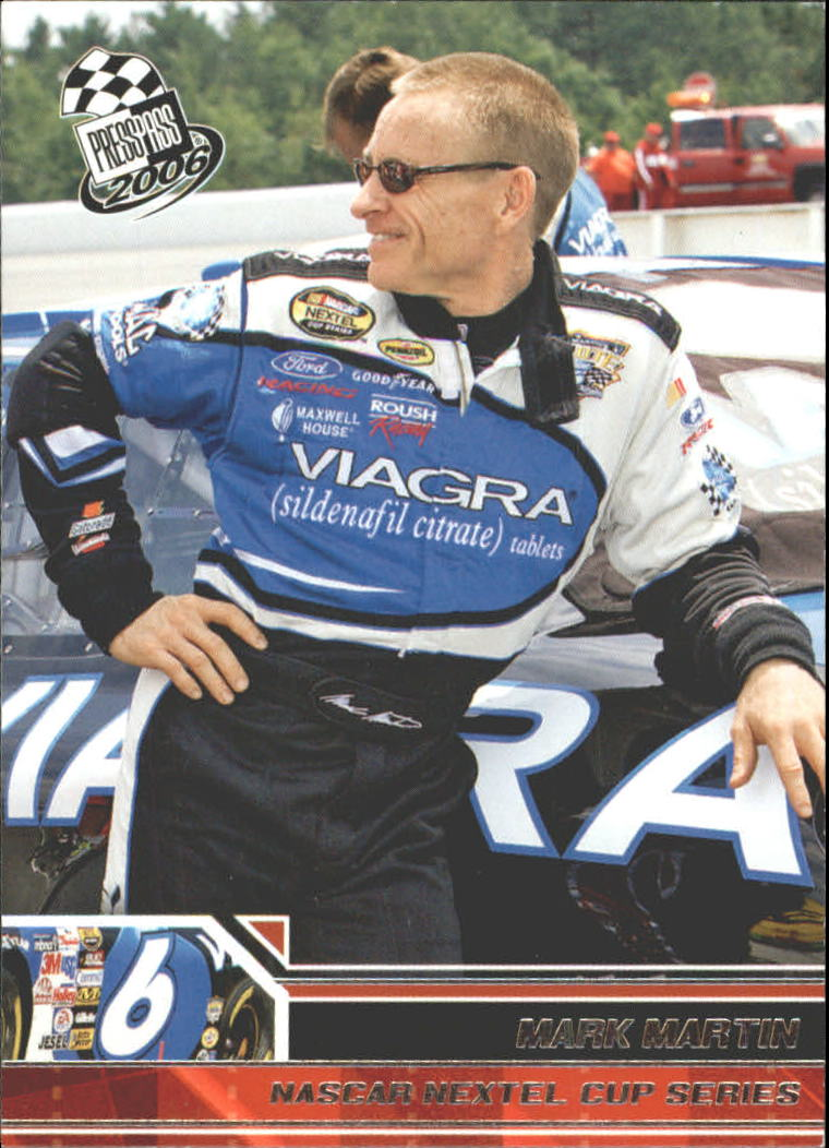 2006 Press Pass #6 Mark Martin
