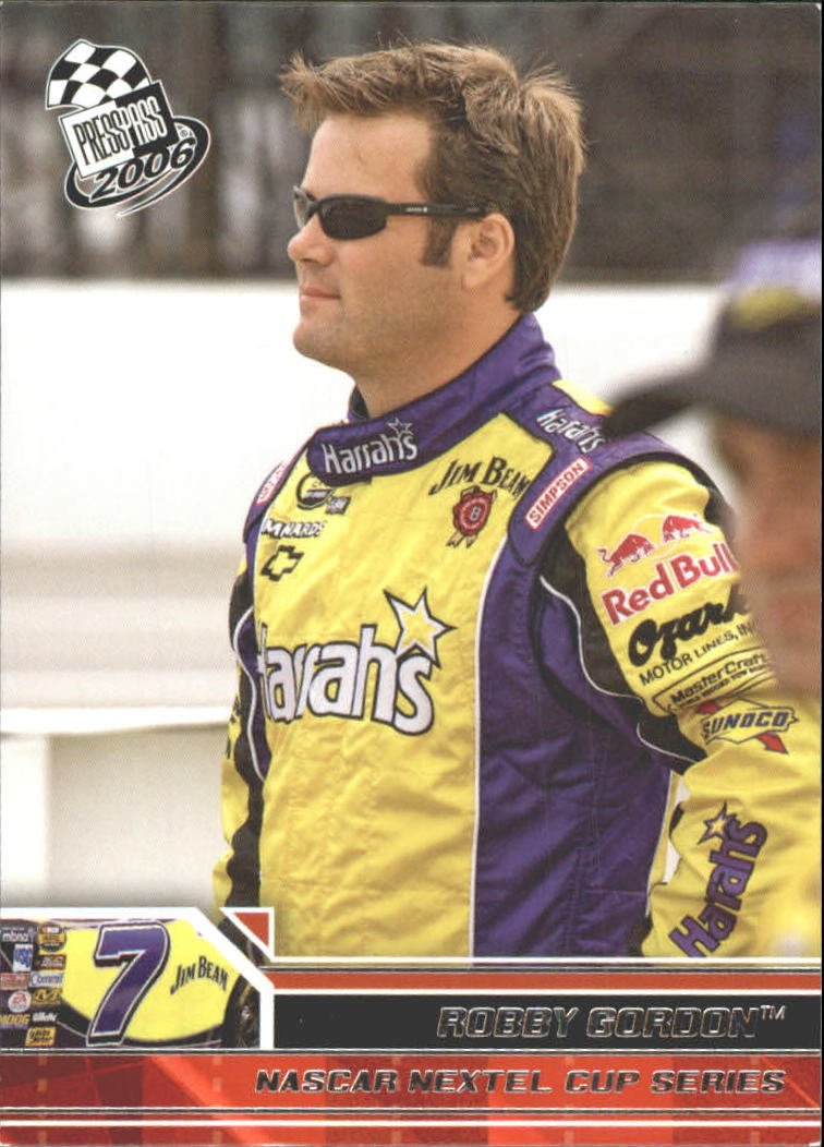 2006 Press Pass #8 Robby Gordon