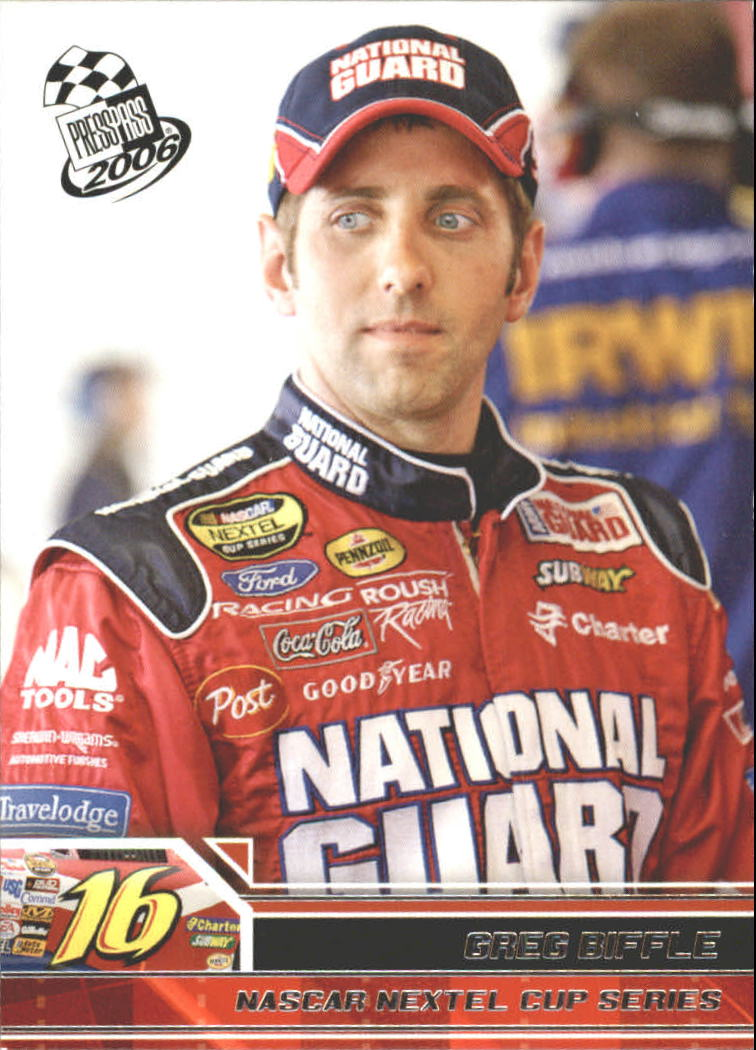 2006 Press Pass #12 Greg Biffle