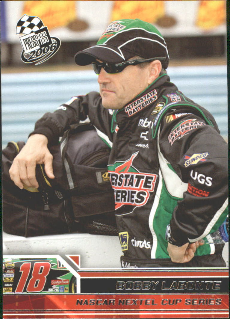 2006 Press Pass #14 Bobby Labonte