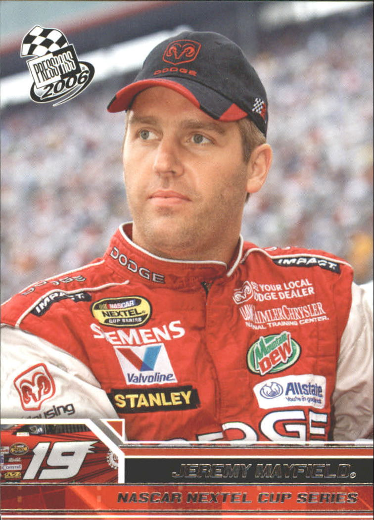2006 Press Pass #15 Jeremy Mayfield