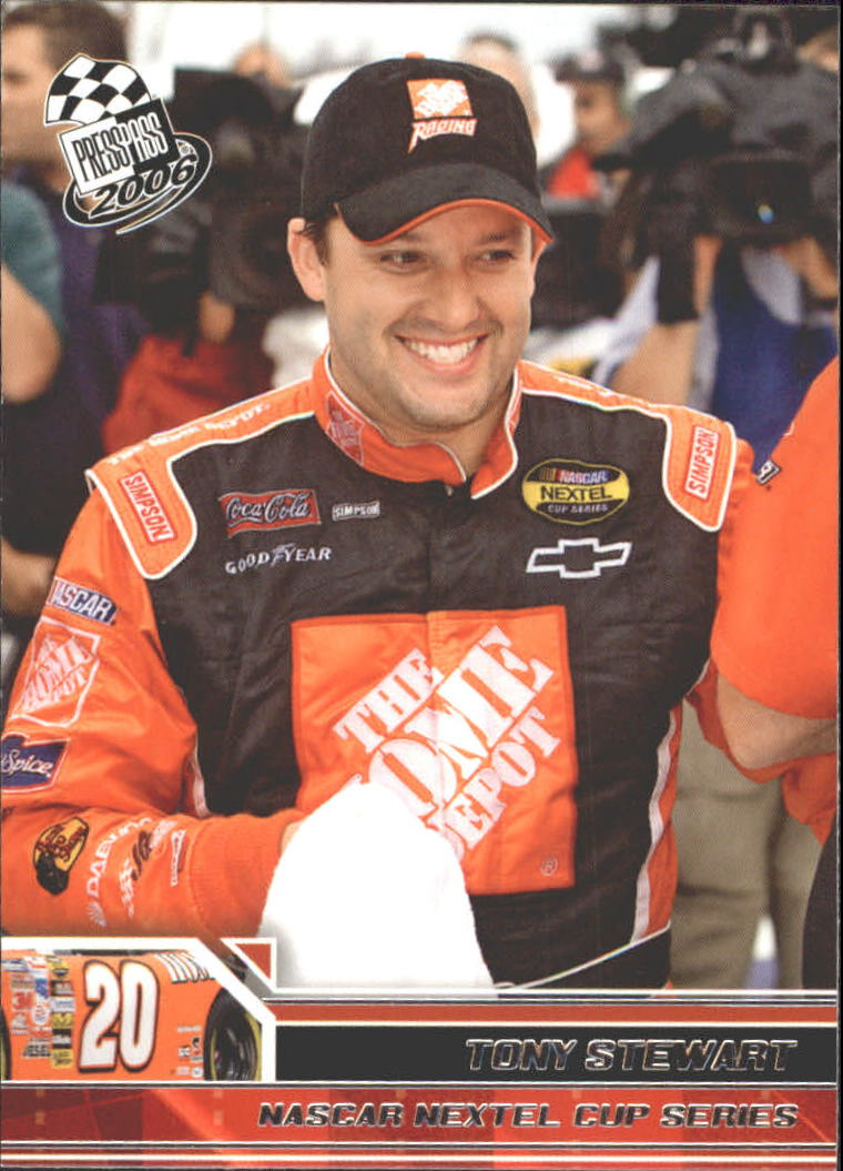 2006 Press Pass #16 Tony Stewart