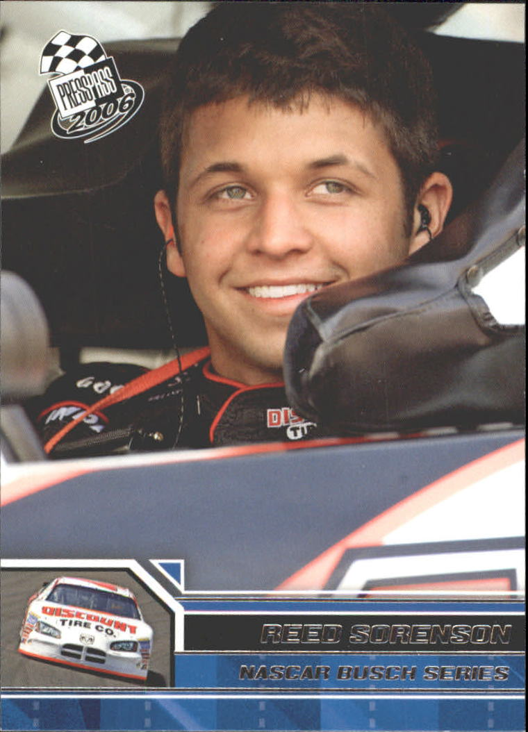 2006 Press Pass #41 Reed Sorenson NBS front image