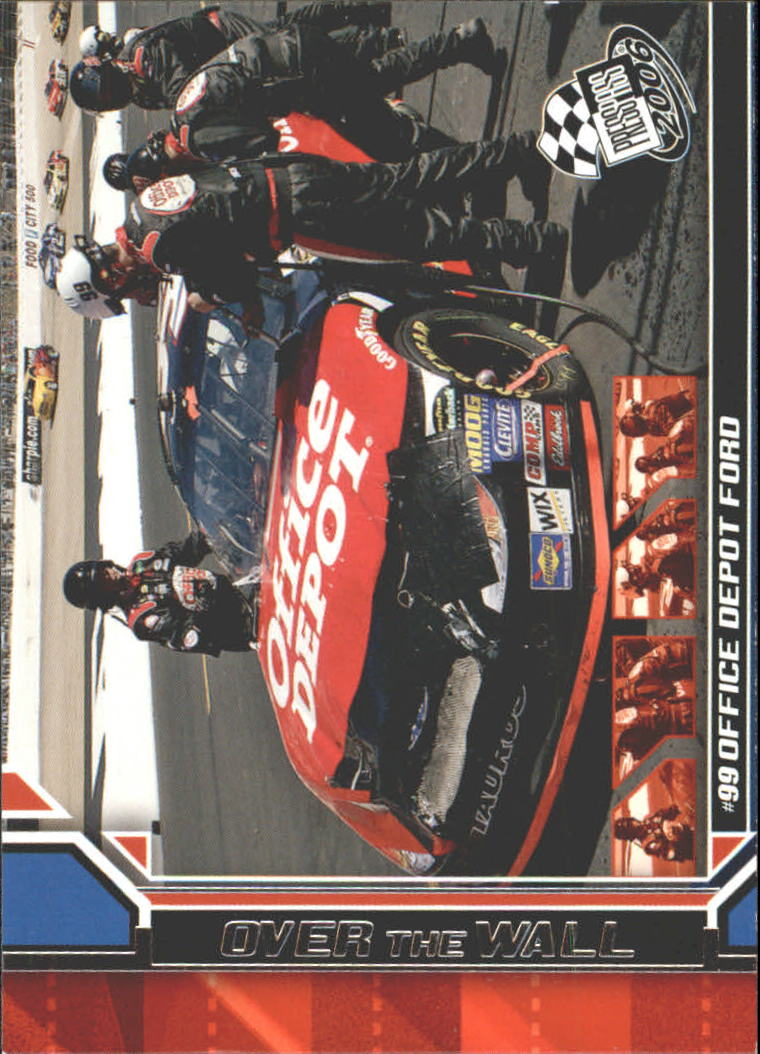 2006 Press Pass #83 Carl Edwards' Car OTW