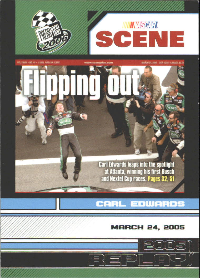 2006 Press Pass #87 Carl Edwards NS