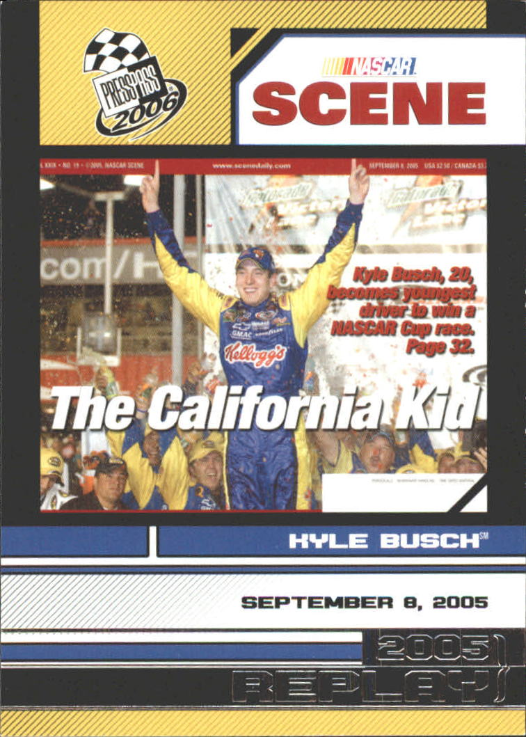 2006 Press Pass #96 Kyle Busch NS