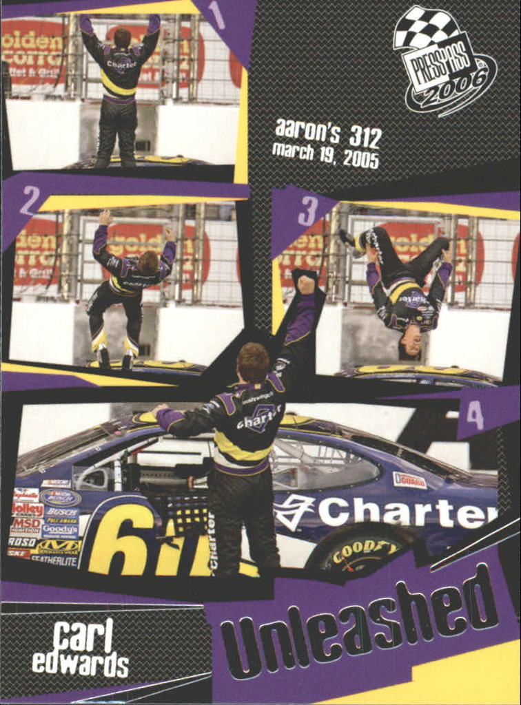 2006 Press Pass #101 Carl Edwards U