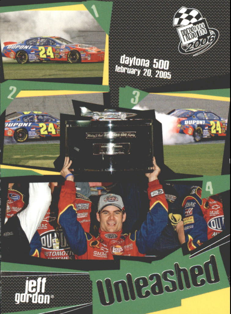 2006 Press Pass #104 Jeff Gordon U