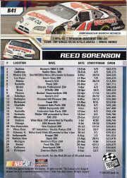 2006 Press Pass Blue #B41 Reed Sorenson NBS back image