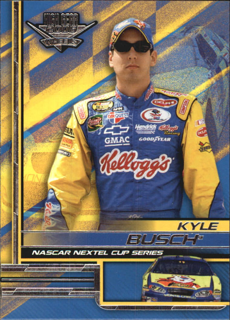 2006 Wheels High Gear #19 Kyle Busch front image