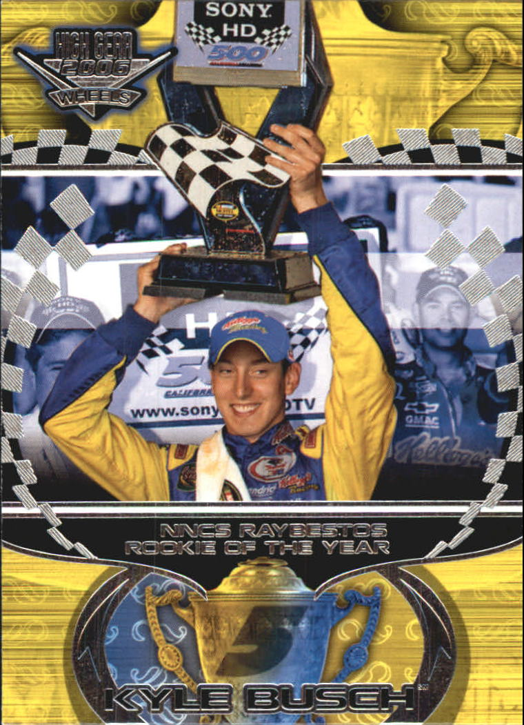 2006 Wheels High Gear #56 Kyle Busch NA front image